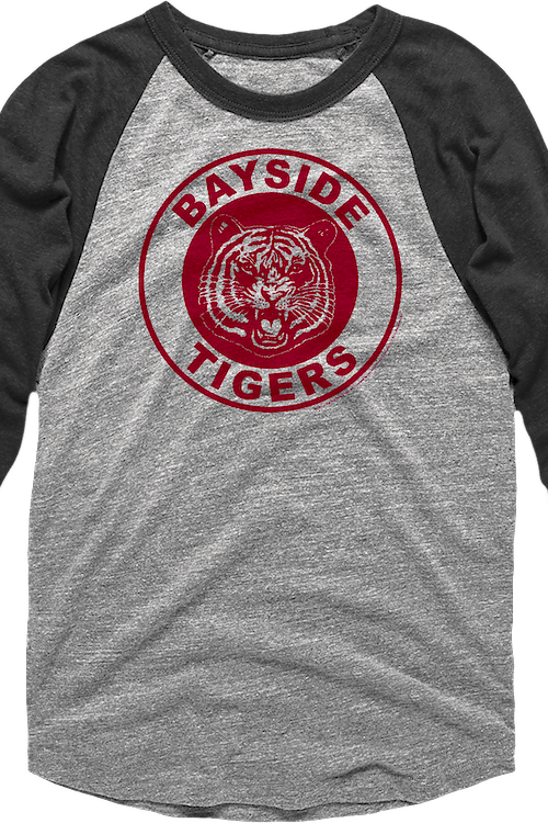 Saved by the Bell Bayside Tigers Raglan