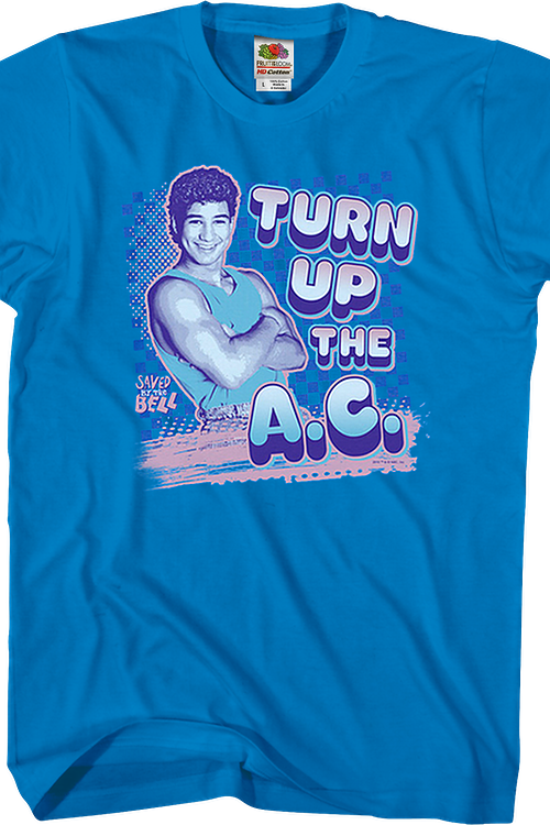 Turn Up The AC Saved By The Bell T-Shirt