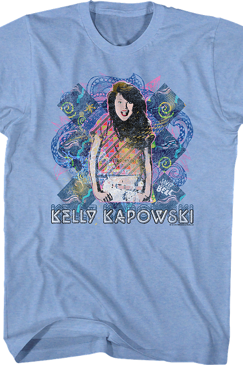 Retro Kelly Kapowski Saved By The Bell T-Shirt