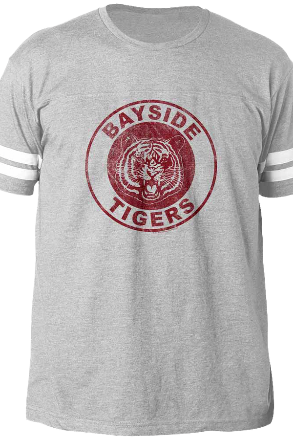Bayside Tigers Saved By The Bell Football T-Shirt
