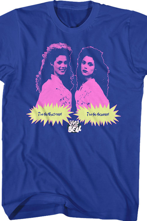 So Excited So Scared Saved By The Bell T-Shirt
