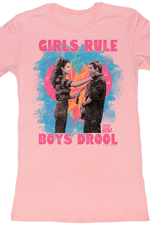 Junior Girls Rule Saved By The Bell Shirt