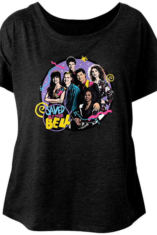 Ladies Saved By The Bell Dolman Shirt