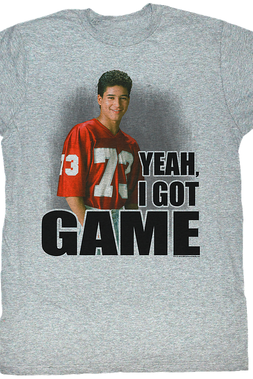 I Got Game Saved By The Bell T-Shirt