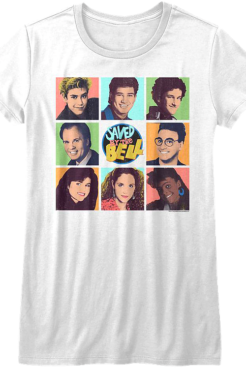 Junior Pop Art Saved By The Bell Shirt