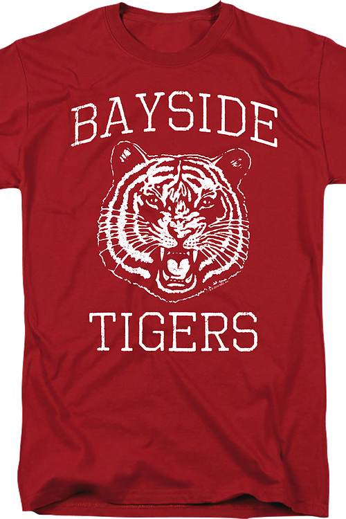 Bayside Tigers Saved By The Bell T-Shirt