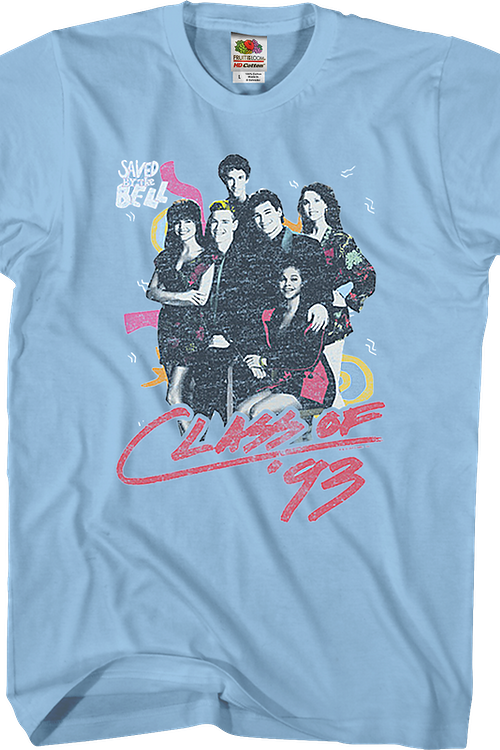 Class Of '93 Saved By The Bell T-Shirt