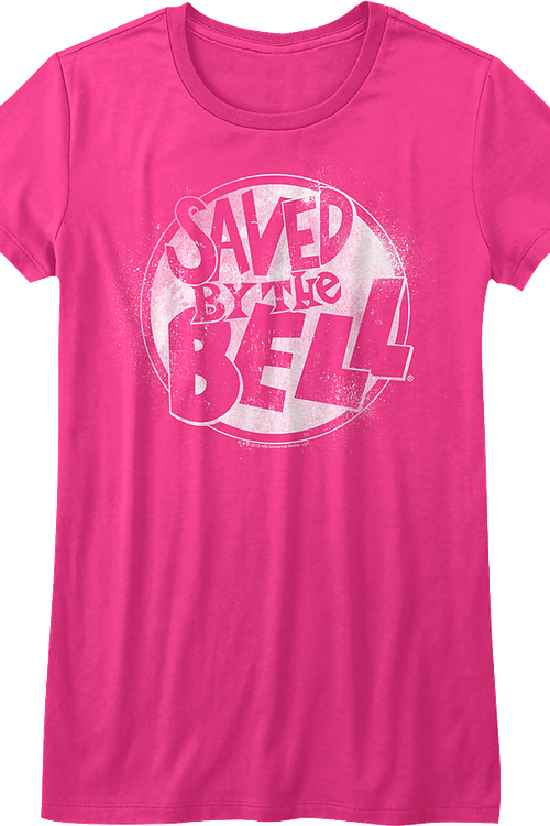 Junior Pink Saved By The Bell Shirt