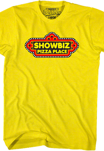 Logo Showbiz Pizza Place T-Shirt