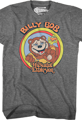 Billy Bob Rock-afire Explosion T-Shirt