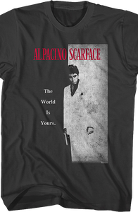 Scarface Movie Poster Smoke T-Shirt