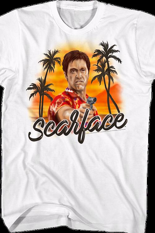 b3c001d70 Airbrush Scarface T-Shirt. Men's T-Shirt