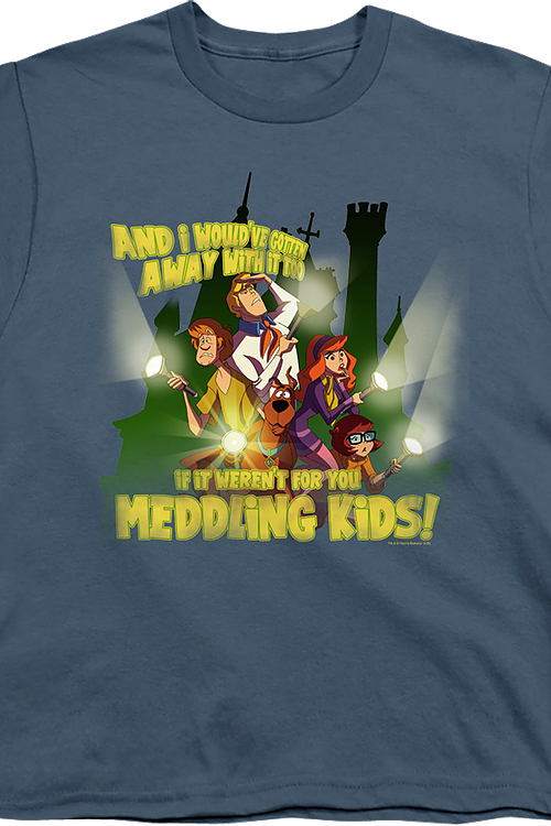 Youth You Meddling Kids Scooby-Doo Shirt