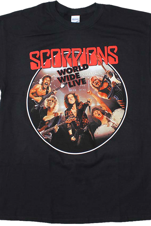 World Wide Live Scorpions T-Shirt