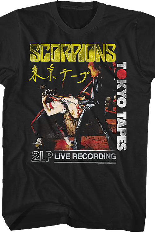 Tokyo Tapes Scorpions T-Shirt
