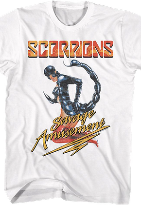 Savage Amusement Scorpions T-Shirt