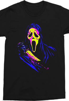 Neon Ghostface Scream T-Shirt