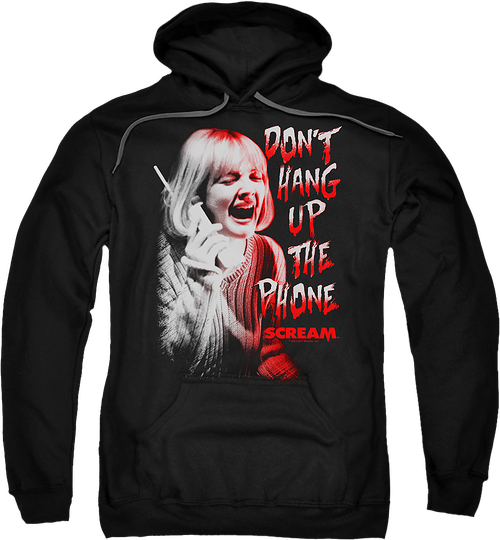 Don't Hang Up The Phone Scream Hoodie