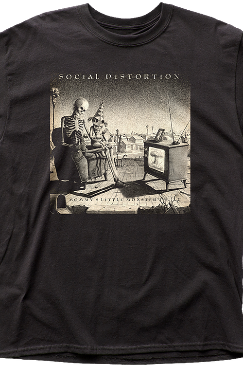 Mommy's Little Monster Social Distortion T-Shirt