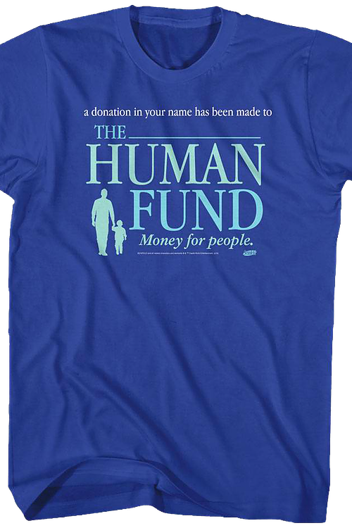 Seinfeld Human Fund T-Shirt