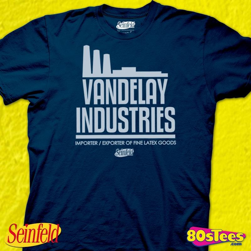 Vandelay Industries T Shirt 80s TV Seinfeld