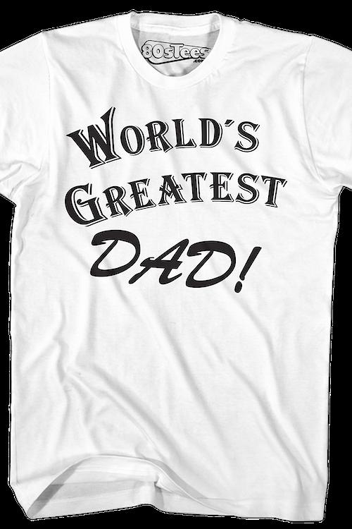 f79b6050 Worlds Greatest Dad Shirt: 80s TV Seinfeld T-shirt