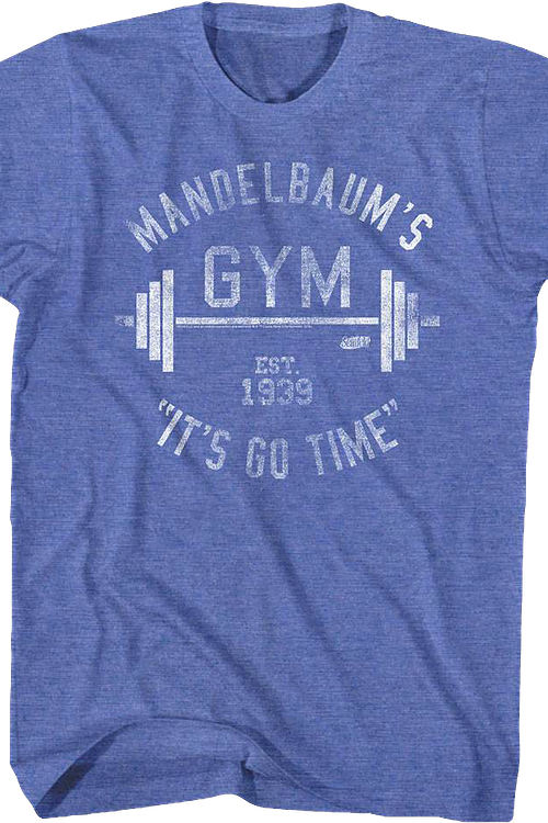 fb746bdc7c0 Mandelbaum s Gym Shirt  Seinfeld Mens T-Shirt