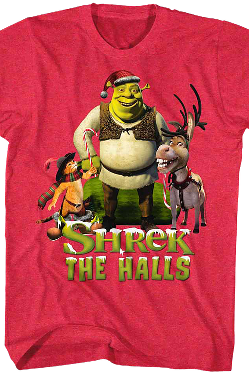 Shrek The Halls T-Shirt