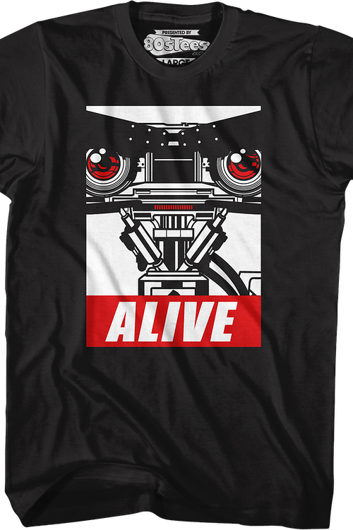 Number 5 Alive Short Circuit T-Shirt