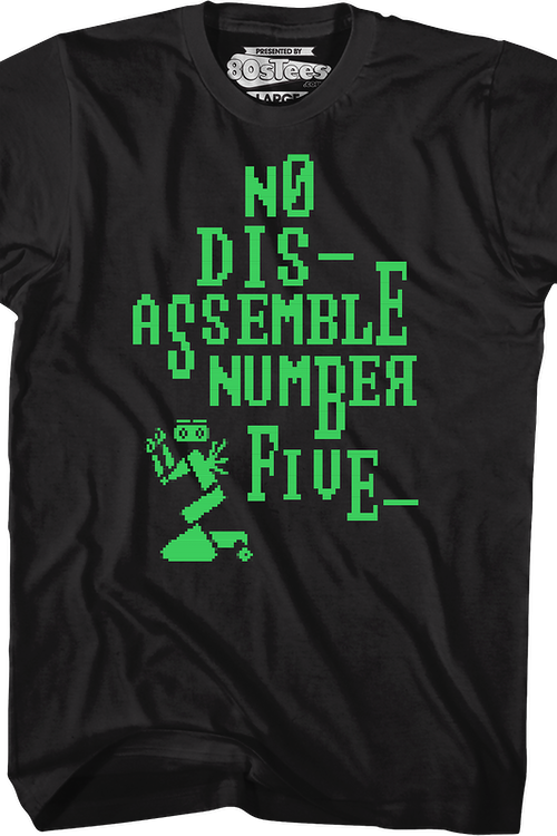 No Disassemble Short Circuit T-Shirt