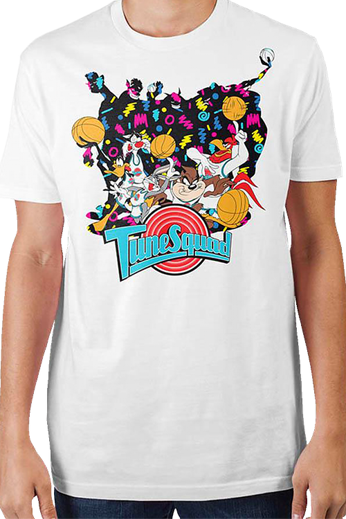 White Tune Squad Space Jam T-Shirt