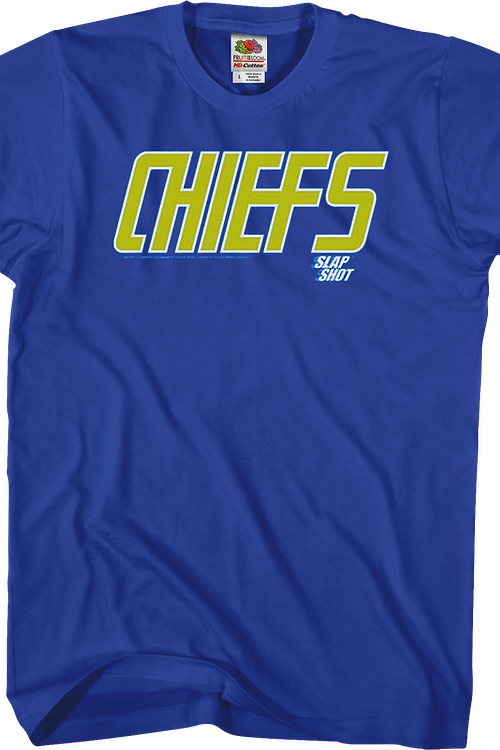 sports shoes 1eae0 f2f3f Chiefs Slap Shot Shirt