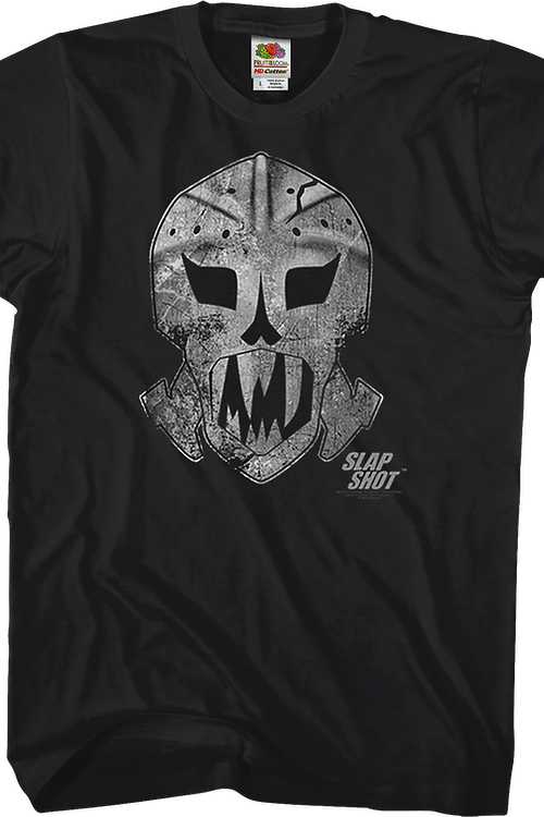 Goalie Mask Slap Shot T-Shirt