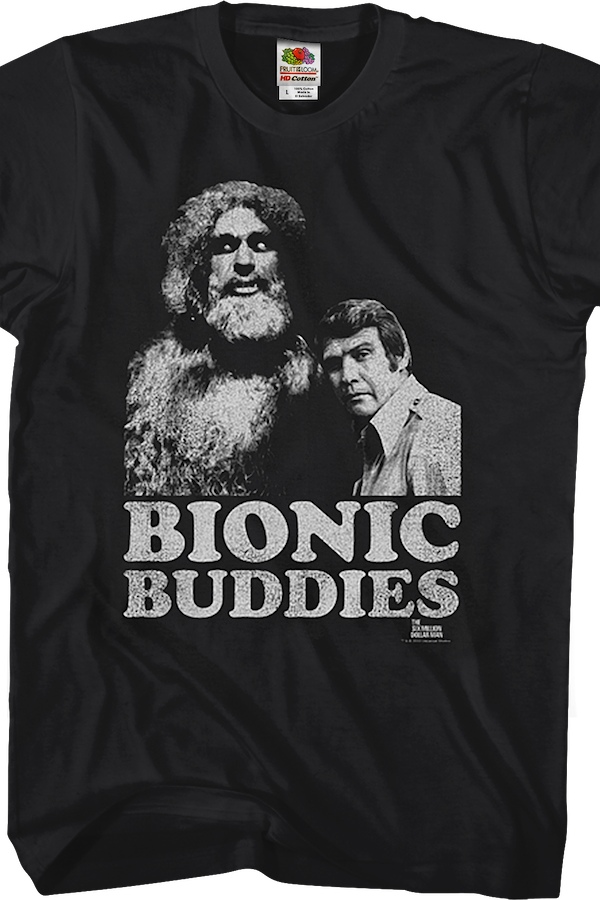 Bionic Buddies Six Million Dollar Man T-Shirt