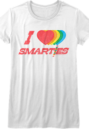 Junior I Love Smarties Shirt
