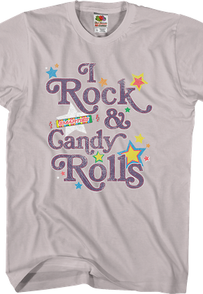 I Rock and Candy Rolls Smarties T-Shirt