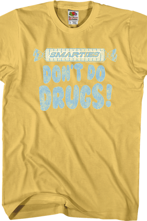 Don't Do Drugs Smarties T-Shirt
