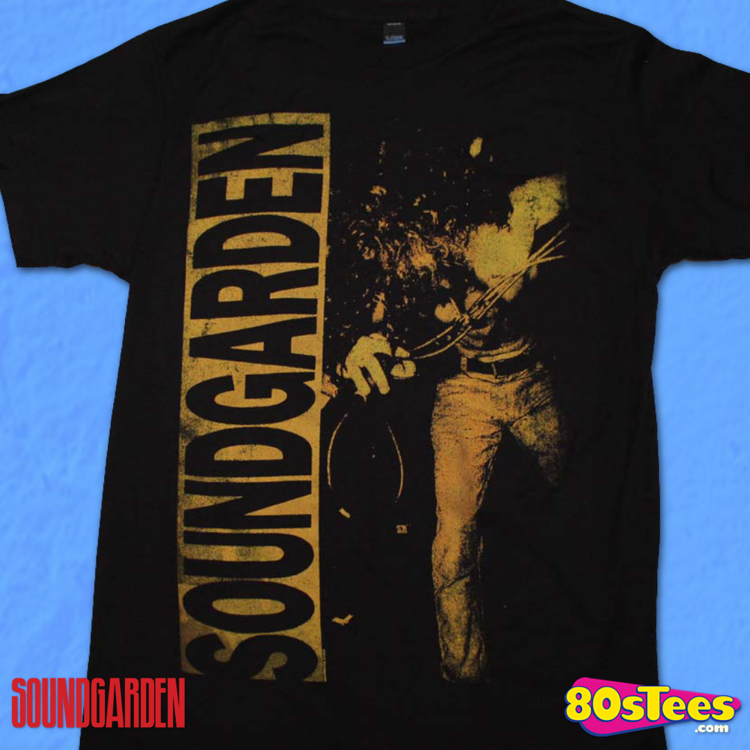 Soundgarden Louder Than Love Licensed Grunge Rock Men/'s T-Shirt