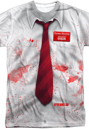 Shaun of the Dead Costume Shirt