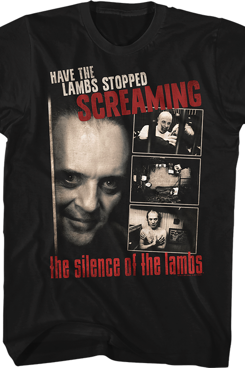 Stopped Screaming Silence of the Lambs T-Shirt