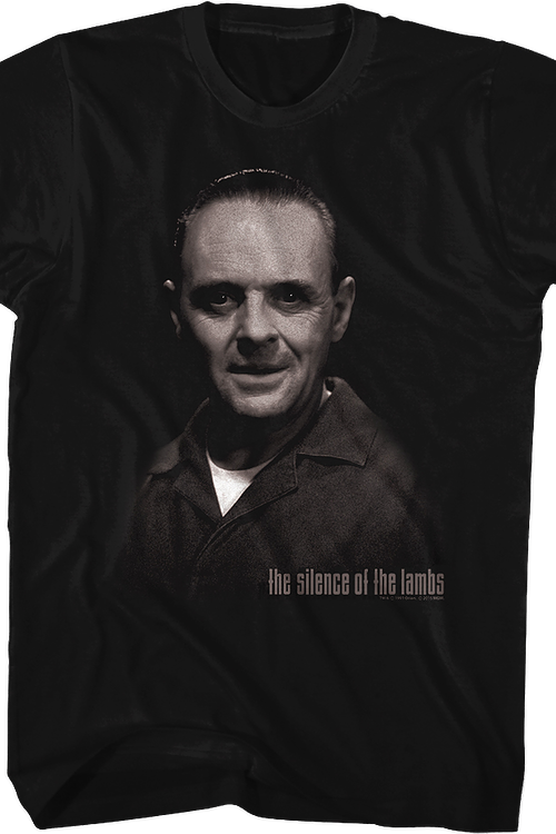 Hannibal Lecter Silence of the Lambs T-Shirt