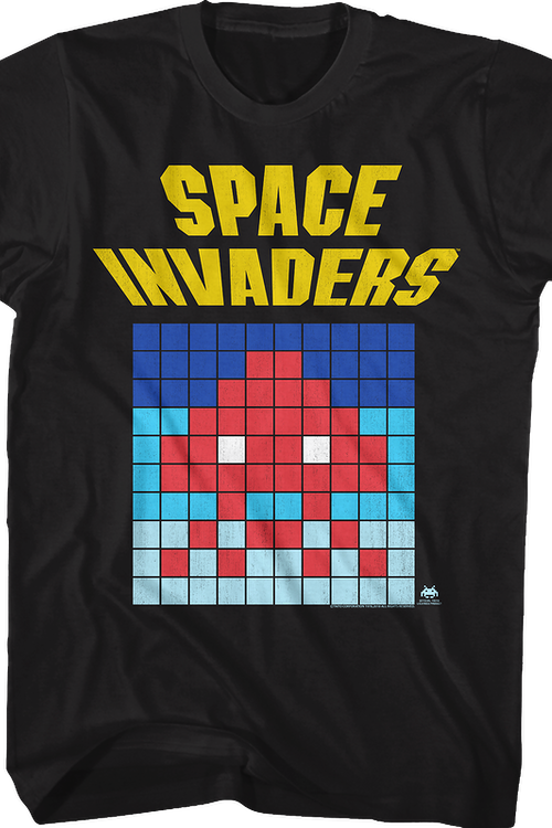 Alien Blocks Space Invaders T-Shirt