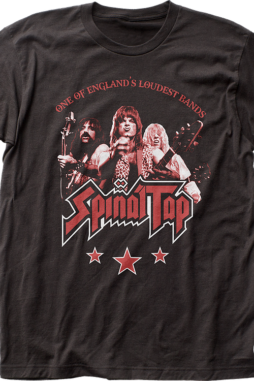 One of England's Loudest Bands Spinal Tap T-Shirt
