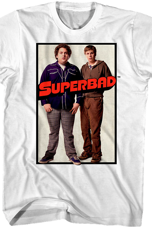 Movie Poster Superbad T-Shirt