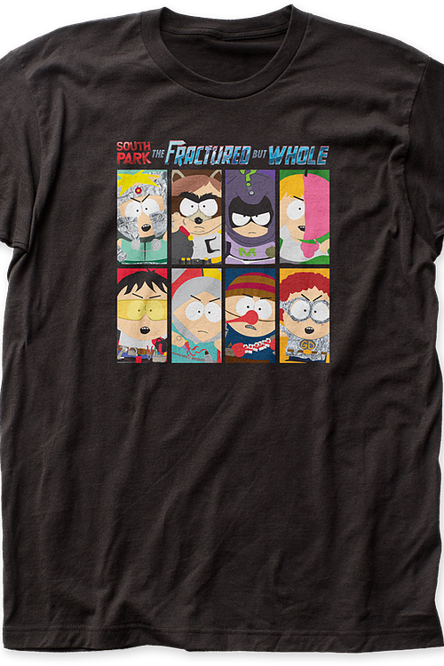 South Park Fractured But Whole T-Shirt
