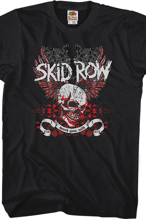 Black Youth Gone Wild Skid Row T-Shirt
