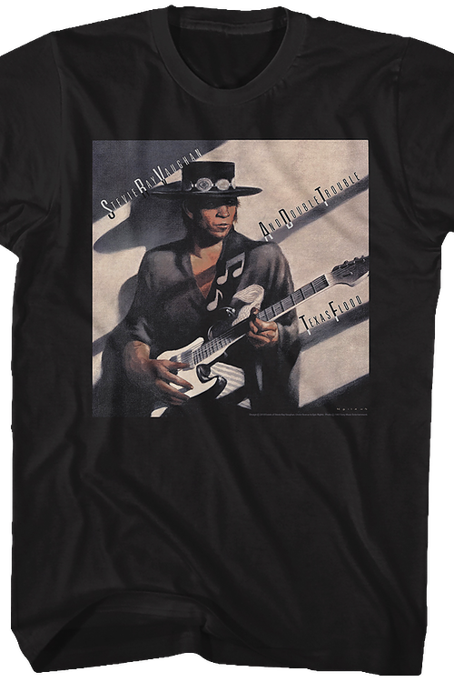 Texas Flood Stevie Ray Vaughan T-Shirt