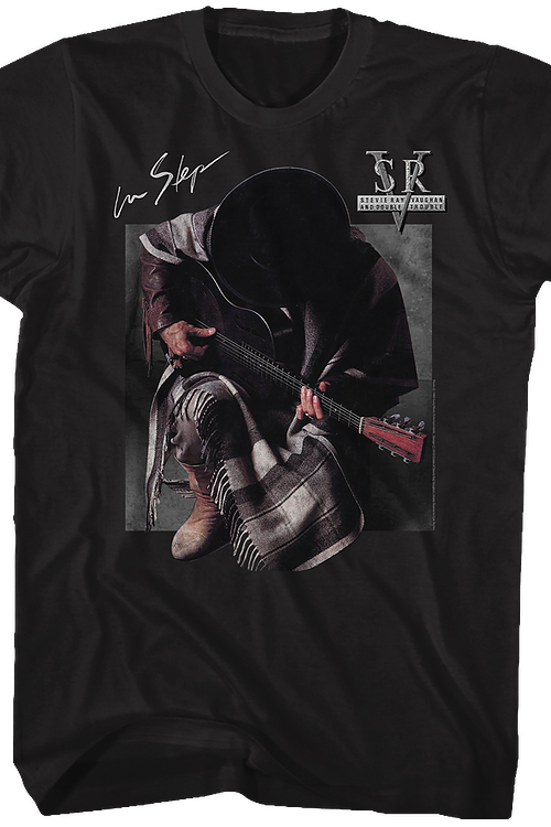 In Step Stevie Ray Vaughan T-Shirt