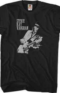 Live Alive Album Cover Stevie Ray Vaughan T-Shirt