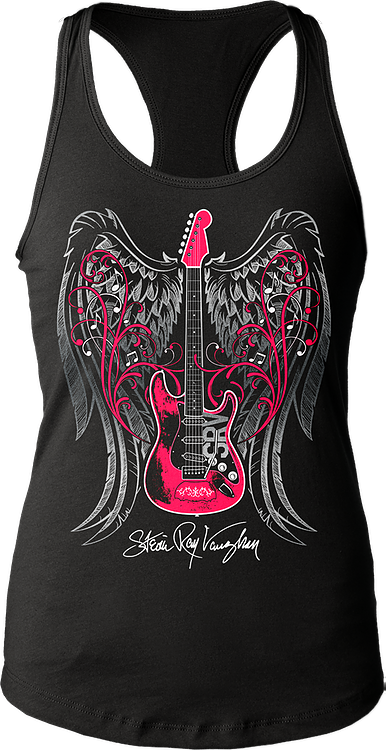 Ladies Stevie Ray Vaughan Tank Top
